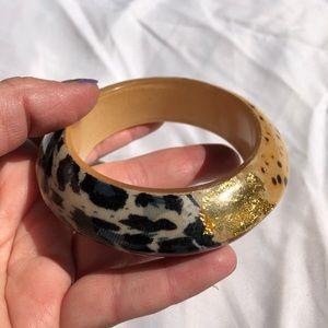 Jewelry - Animal Print Bangle Bracelet